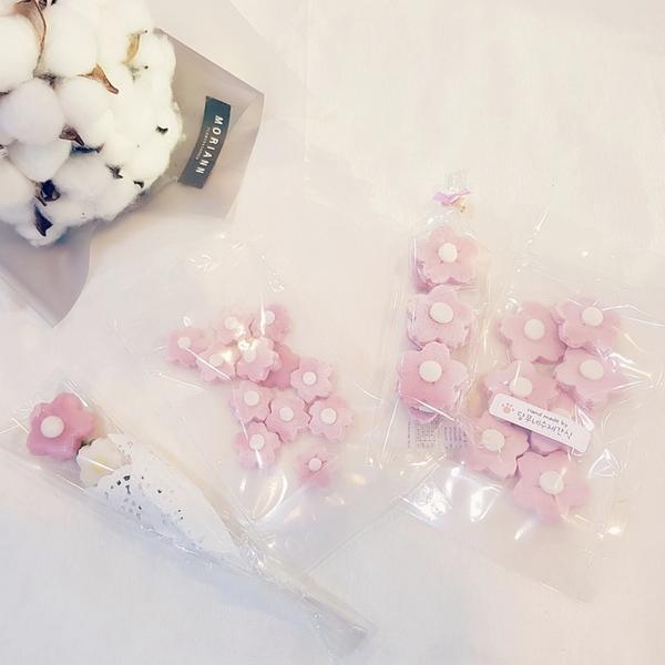 강아지수제간식 벚꽃에디션