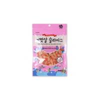 (유통기한21.09.05)미우와우 고양이 간식 게살맛 슬라이스 30g