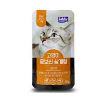 테비 고양이 간식 몸보신 삼계탕 닭고기 120g