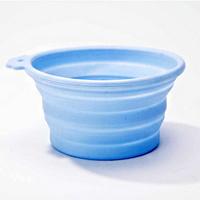 하겐 주토피아 강아지 실리콘 그릇 블루