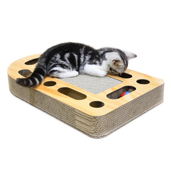 고양이 장난감 턴테이블 스크래쳐 애완 애견 애묘 용품 공놀이