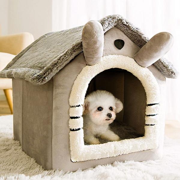 강아지 고양이 숨숨 집 애견 방석 쿠션 소프트 하우스