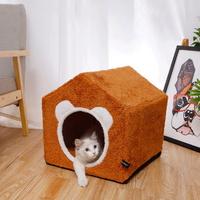 강아지 고양이 숨숨 집 애견 방석 쿠션 이지 하우스