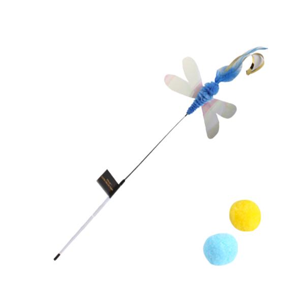 파다닥 캣플라잉 낚시대 롱 블루드래곤플라이 + 스노우볼 2개