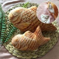 발라당 고양이 캣닢 쿠션 붕어빵 생선인형