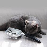 발라당 고양이 화장실 모래삽 알루미늄 메탈 특대형