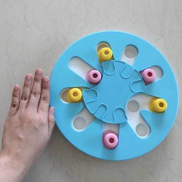 발라당 간식장난감 3단계 노즈워크 먹이퍼즐 원형