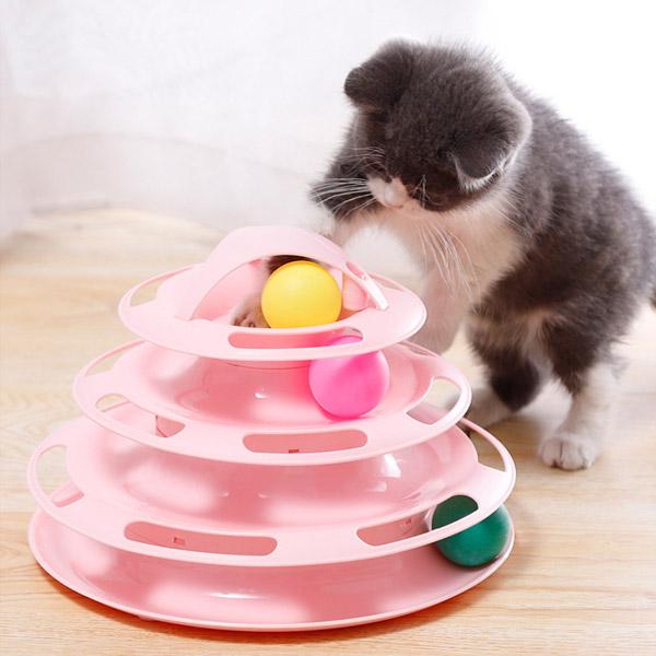 발라당 고양이 반자동 움직이는 장난감 스트래스해소