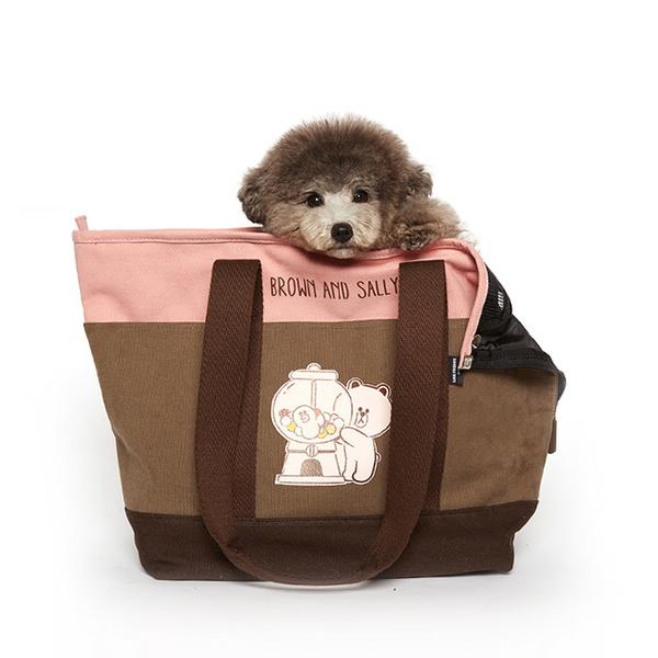 브라운 앤 샐리 캐리어 가방