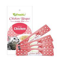 (유통기한21.02.11)프레스키 고양이 간식 파우치 치킨레시피 12g 4개입
