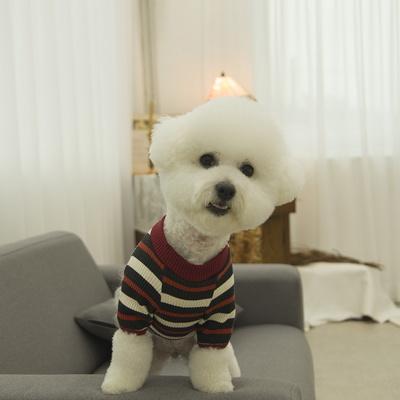 유니온 베이직 강아지 티셔츠 레드