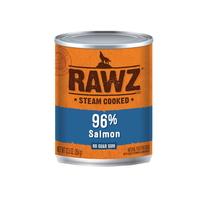(유통기한21.03.21~30)로우즈 고단백 연어 강아지 캔 습식사료 354g
