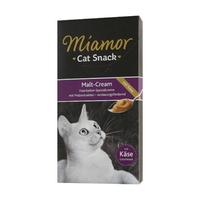 (유통기한21.01.30)미아모아 고양이 간식 스낵 몰트 크림 및 치즈 15g 6개입