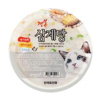 논다 고양이 간식 보양식 전복 삼계탕