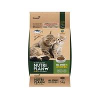 뉴트리플랜 고양이 사료 고양이전연령 플러스 5.0kg