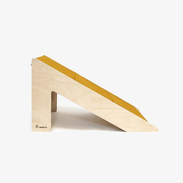 팀비리체 2in1 계단 겸 슬라이드 옐로우