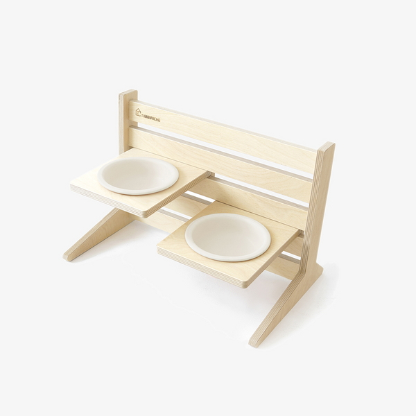 PET TABLE SET - IVORY
