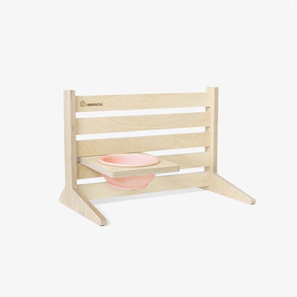 PET TABLE SET - CREAM PINK