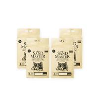 샌드마스터 고양이 크랙 두부 모래 하이브리드 7L X 4포