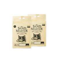샌드마스터 고양이 크랙 두부 모래 하이브리드 7L X 2포
