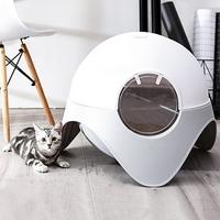 티에프펫 고양이 캡슐 후드형 화장실