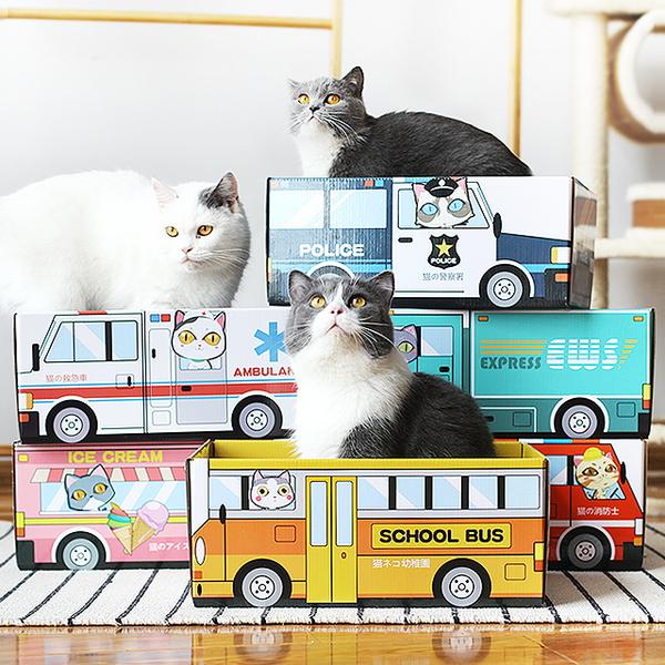 티에프펫 고양이 스크래쳐 박스