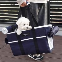 루이까몽 꼼므백 애견가방 숄더백 강아지 고양이 이동가방