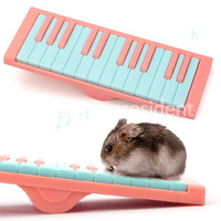 뉴에이지 햄스터 피아노 시소 핑크(NA-H061)
