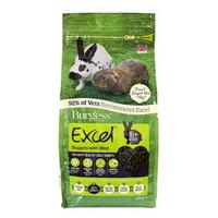 버지스 엑셀 토끼 민트향사료2kg