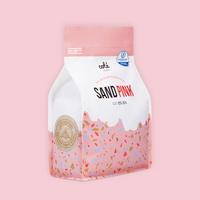 먼지없는 고양이모래 꼬뜨샌드 핑크 6kg x 3개