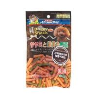 도기맨 스낵밸류 사사미 + 녹황색 채소 80g
