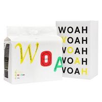 우와(WOAH) 발도장이찍히지않는 소형 50매 우와배변패드