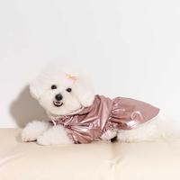 펫펑크 강아지 바람막이 핑크 S~XL