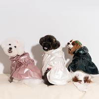 펫펑크 강아지 겨울옷 바람막이 S-XL