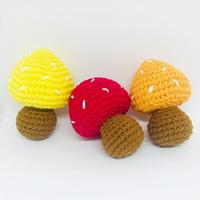 혀니단비  버섯 인형 장난감