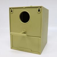 2GR 083 둥근입구 핀치 둥지박스 호금조 문조 새 앵무새 용품 장난감