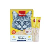 완피 고양이 파우치 크리미 퓨레 닭고기 14g 25개입