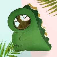 도트캣 스크래처 아기공룡