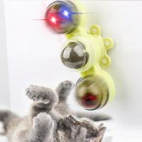 리스펫 고양이 움직이는 장난감 3단 캣닢볼 스피너