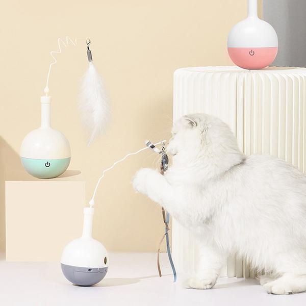 리스펫 고양이 움직이는 자동 장난감 나빌레라