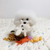 개달당 납작달이 삑삑이 애견 장난감 강아지 이갈이장난감
