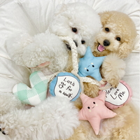 모빌 오가닉 터그놀이 삑삑이 장난감 강아지장난감
