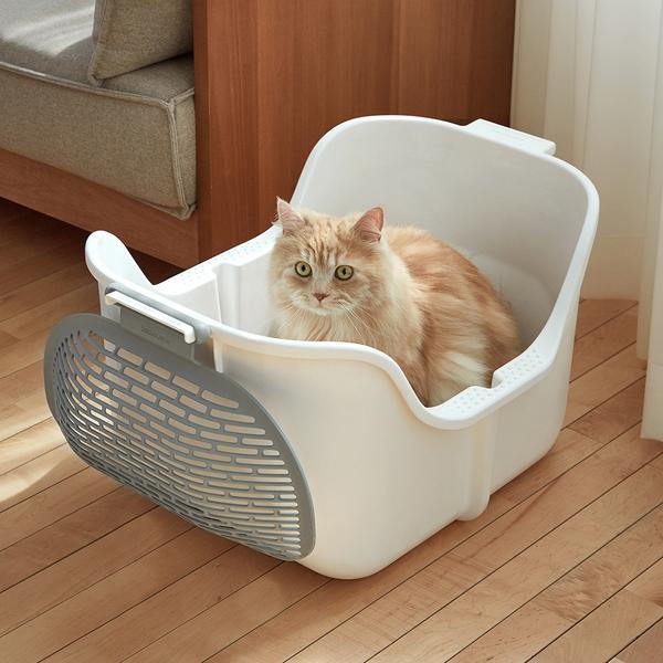 모노모그 고양이 평판 화장실 스윙캣 대형