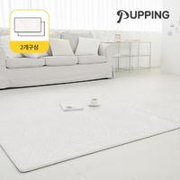 [2개구성] 퍼핑 펫매트 러그타입 모던디자인 M (200X140X0.6cm) 5종택1