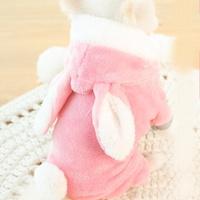 [멍냥왕국] 토끼 극세사 올인원 - 핑크 / 강아지 겨울올인원 / 멍멍이겨울옷