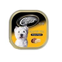 시저 강아지 캔 쇠고기와 치즈 100g