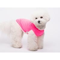 강아지 고양이 쿨링 티셔츠 핫핑크
