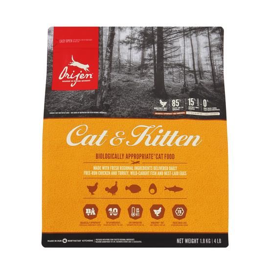 오리젠 고양이 사료 캣 앤 키튼 1.8kg