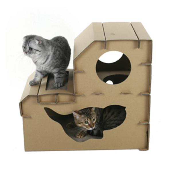 고양이스크래쳐 필라인하우스 먀오