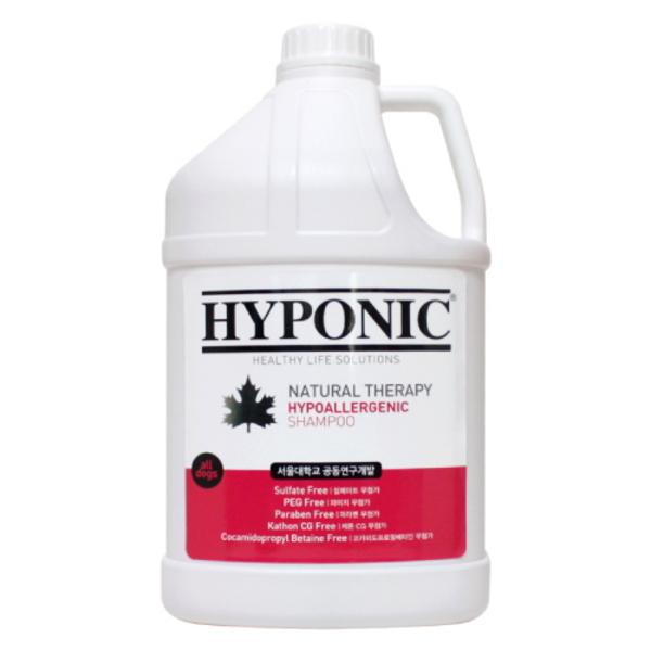하이포닉 저자극샴푸 모든강아지용 3.8L